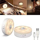 Best Puck Lights - SIBI Motion Sensor LED Light, USB Rechargeable, Stick Review
