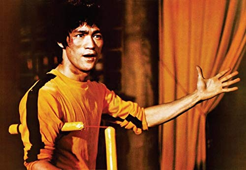 Flduod Bruce Lee Schilderij kwaliteit HD Home Decor Art Decor kamer kwaliteit living posters muur canvas schilderij40x60cm