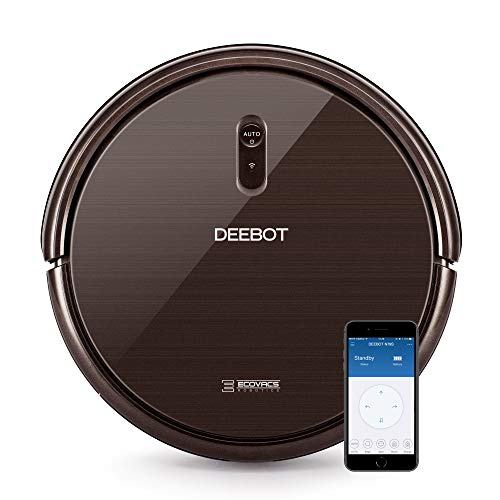 Ecovacs DEEBOT N79S Robotic Vacuum Cleaner with Max Power Suction,  Up to 110 min Runtime, Hard...