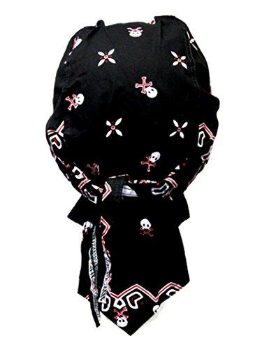 Armardi b Bandana Motif Tête de Mort avec casquette