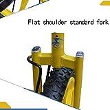 LIfav 16 Zoll Kinder Einrad, Höhenverstellbarer Griffige Reifen Einzel-Runde Gleichgewicht Bike Radfahren, Für Anfänger Kinder Erwachsene Übung Fun Fitness,Blau - 7