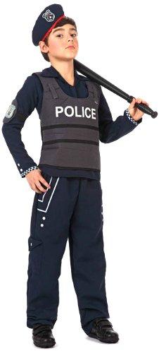 Atosa - 12193 - Costume - Déguisement De Garçon Policier - Taille 1