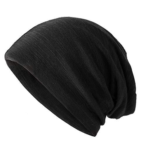 ニット帽 医療用帽子 ビーニーニットキャップ 防寒 帽子 秋 冬 無地 フリーサイズ おしゃれ レディース メンズ 黒