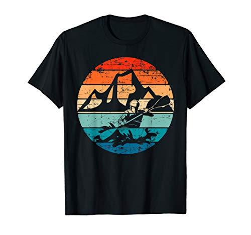 Lustiges Design für Kajakfahrer Kajak Evolution Kanu Kayak T-Shirt