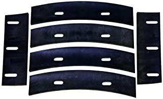 Stone 21047 Mortar Mixer Rubber Blades for 6, 7 or 8 Cubic Feet Mixer