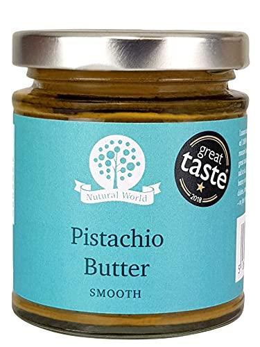 Nutural World - Beurre de Pistache onctueux(170g) Vainqueur des Great Taste Awards