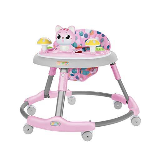 Jouets bébé marcheur Baby Walker Multi-Fonction Anti-o-Leg Peut s'asseoir et Se Replier FANJIANI (Couleur : B)