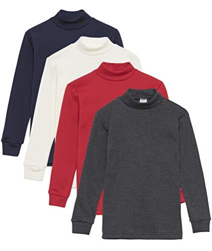 Camiseta termica Interior niño Cuello Medio Alto Semi Cisne niño Manga Larga...