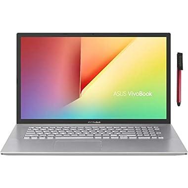 ASUS VivoBook 17 17.3″ FHD Laptop Computer_ AMD Ryzen 3 3250U up to 3.5GHz (Beat i5-7200U)_ 8GB DDR4 RAM, 256GB PCIe SSD_ AC WiFi_ Webcam_ Type-C_ Remote Work_ Windows 10_ BROAGE 64GB Flash Drive