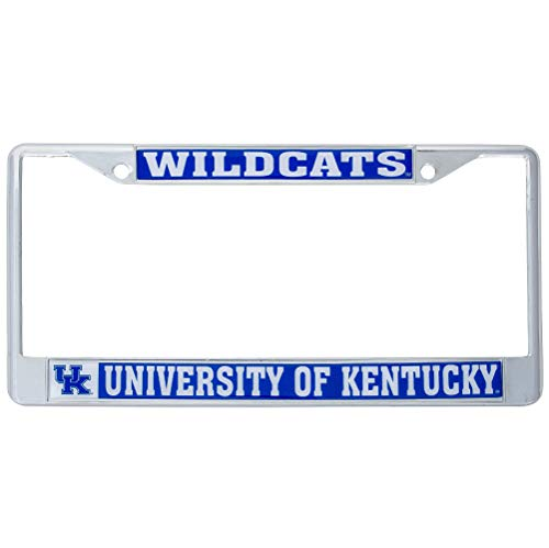 Desert Cactus University of Kentucky UKY Wildcats NCAA Metal License Plate Frame for Front or Back of Car Officially Licensed (Mascot)