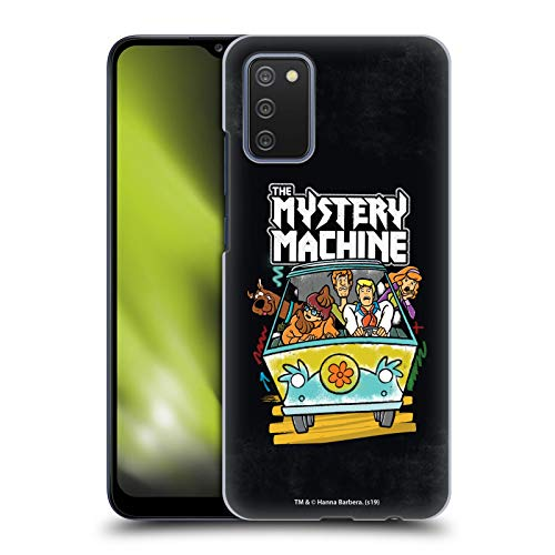 Head Case Designs sous Licence Officielle Scooby-Doo Grunge Mystery Machine Mystery Inc. Coque Dure pour l'arrière Compatible avec Samsung Galaxy A02s (2021)