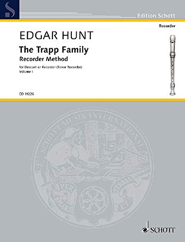 The Trapp Family Recorder Method, Book 1: Descant or Tenor