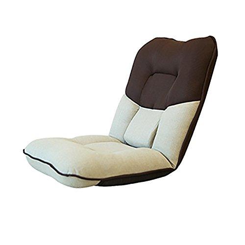 L-R-S-F Canapé Paresseux Canapé De Lit Plus Épais Canapé Unique Fauteuil De Pique-nique Dortoir Chaise De Balcon (Couleur : Noir)