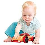 Holz zusammenbauen Auto Spielzeug, kreatives Removable Fahrzeug, Holz Abnehmbare Spielzeug-Set, pädagogisches Spielzeug-Geschenk for Kinder, Jungen, Mädchen (Rennwagen) zcaqtajro