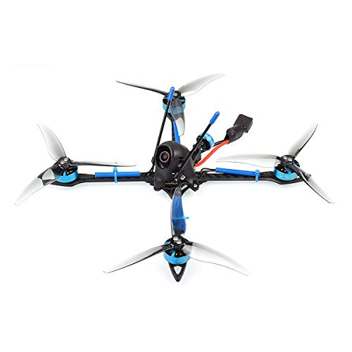 BETAFPV X-Knight 5inch 6S FPV Brushless Toothpick Drone Frsky with F4 35A AIO FC M02 25-350mW VTX 1805 1550KV 6S Motor for FPV Racing Whoop Drone Quadcopter (Frsky FCC)