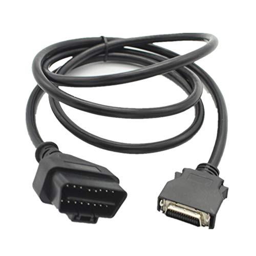 Sbeautli Diagnóstico del Coche Cable Tester GDS VCI Línea Programación del probador del Cable OBD2 16P para Vehículos Gasolina con Protocolos OBDII