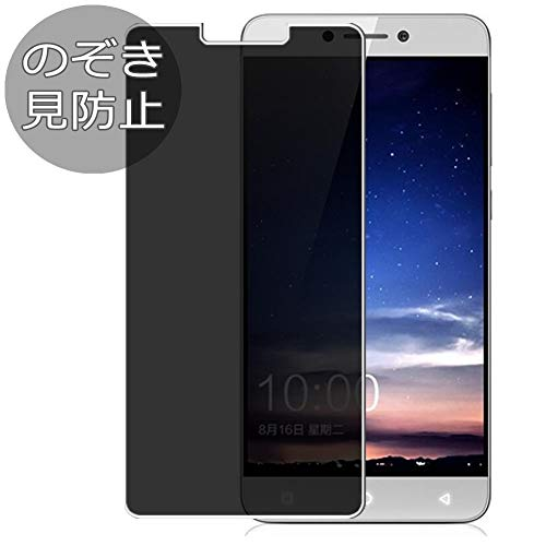 Synvy Privacy Screen Protector Film for Leeco Coolpad Cool 1 Dual Anti Spy Protective Protectors [Not Tempered Glass]
