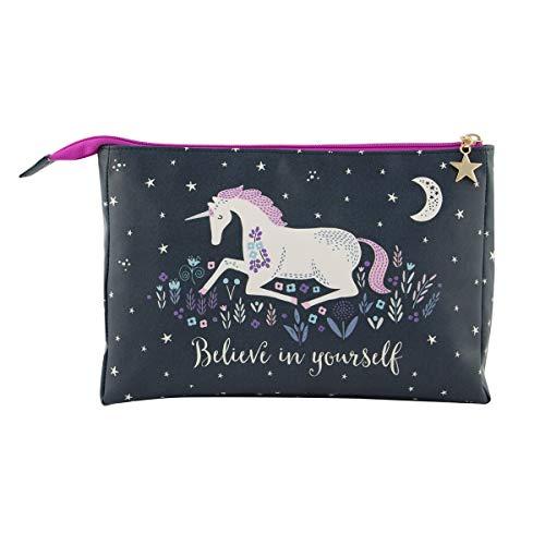 Sass & Belle Starlight - Borsa per il lavaggio a forma di unicorno
