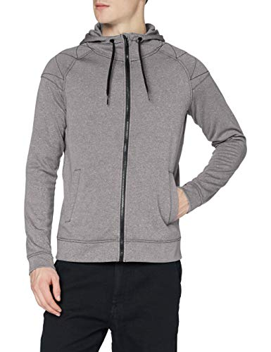 Stedman Apparel Active Performance Jacket/ST5830 Sweat-Shirt, Gris-Gris (Stone), X-Large Homme
