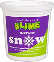 Maddie Rae's Instant Snow XL Pack- Makes 5 GALLONS of Fake Artificial Snow- Best Powder for Cloud Slime, Made in The USA by Snowonder - Safe Non-Toxic