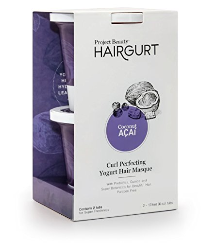 Hairgurt Curl Perfecting Deep Conditioner Yogurt Hair Mask for Curly, Dry and Damaged Hair;...
