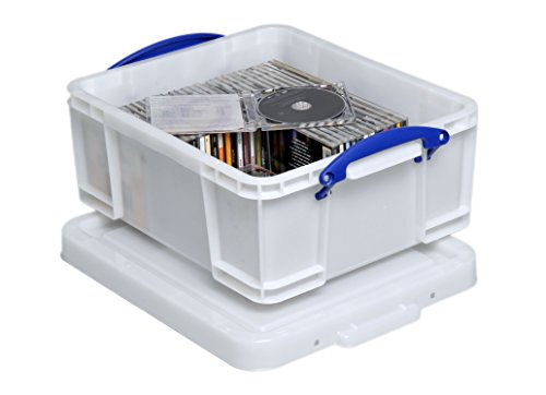 Really Useful Box - Caja (18 L), color Extra Strong White 18 Litre