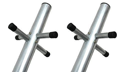 X2 DJM Direct Heavy Duty 2 Part Washing Clothes Post with Socket Supplied Boxed