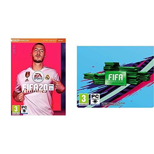 FIFA 20 (La caja contiene un código de descarga - Origin) - Edición Estándar + 1050 Puntos FIFA
