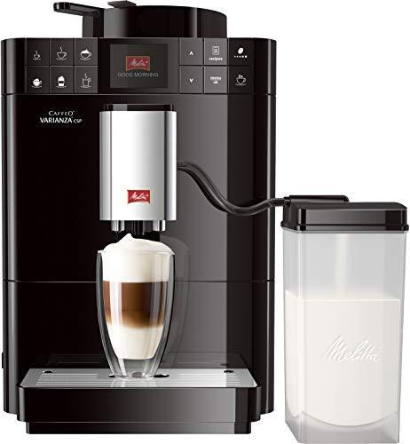 Melitta Caffeo Varianza CSP F570-102, Volautomatische espressomachine met melkreservoir, One Touch-functie, zwart