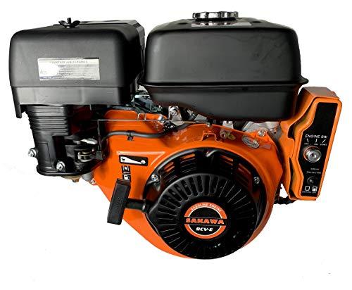 SAKAWA Motor Gasolina 4 Tiempos 270CC 9 CV Arranque electrico
