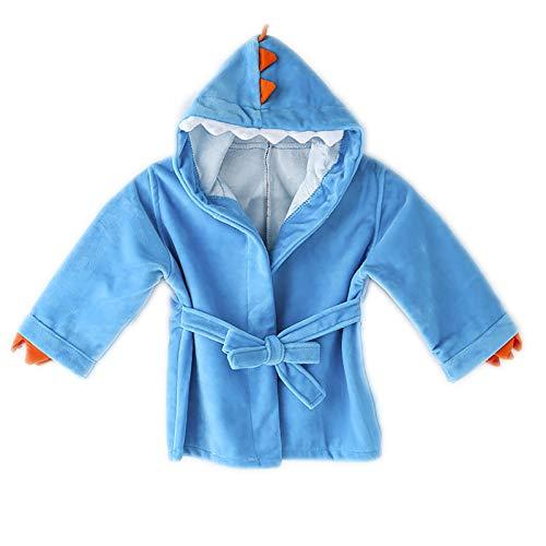 OMKMNOE Lindo Bebé Invierno Warm Monstern Monstern Cape Cape, Cape Poncho Abrigo para Niños Niño Niña Niño Terry,Azul,L