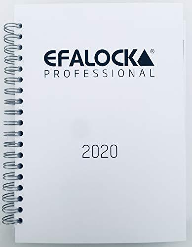 Efalock Agenda 2020 para peluquería.