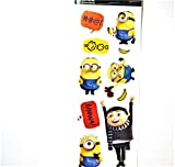 Minions Rise of GRU Removable Vinyl Wall Border Mural Stickers Kids Room Nursery Décor 10pc