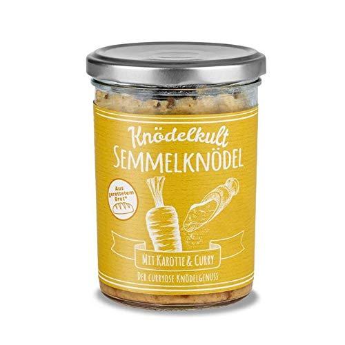 Knödelkult - Semmelknödel Mit Karotte Und Curry - 350 g Glas