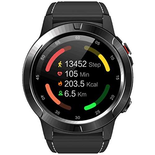 HJKPM 320Mah Smartwatch, GPS Multifunción Multifunción Ritmo Cardíaco Al Aire Libre Bluetooth Smart Watch for ECG PPG HRV Detection