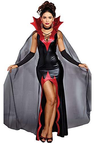 Forever Young Deluxe Mesdames Costume Vampire Costume Adulte Halloween Costume De Déguisement De Fête UK 8 EU 36