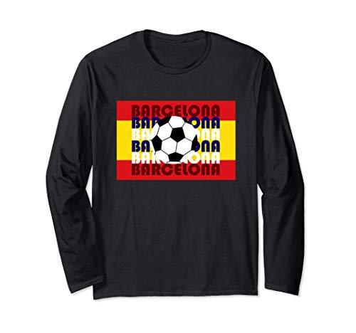 Barcelona España Fútbol Versión 4: Gran Bailarín de la Bauha Manga Larga