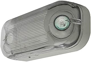 LFI Lights - UL Certified - Hardwired Wet Listed Emergency Exit Light - MR16 Halogen Lamp - Weather Proof - ELWETMR16