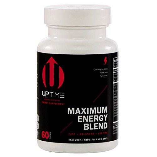 UPTIME Energy Maximum Blend Tablets - 60ct. Bottle