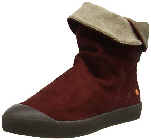 Softinos Damen KAZ469SOF Hohe Stiefel, Rot (Red 008), 40 EU