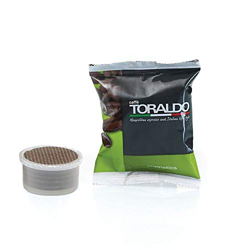 Caffè Toraldo Aromatica Capsules Compatibili con 'Espresso Point' 100 Capsules