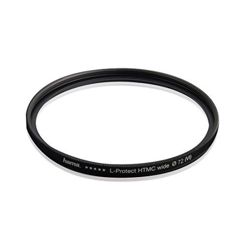 Hama UV Filter HD 72 mm Slim (Objektivschutz, 3 mm flache Metallfassung mit Frontgewinde, mehrfach vergütet HTMC, inkl. Filterbox)