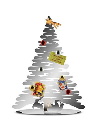 Alessi Bark for Christmas BM06 - Baumförmige Weihnachtsdekoration aus Edelstahl, Glänzendpoliert
