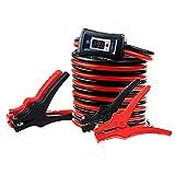 NoOne Jumper Cables, 4 Gauge 18 Feet LED Light Booster...
