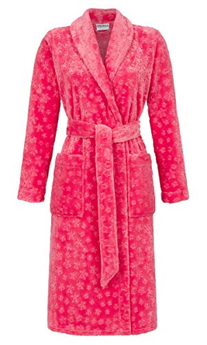 Ringella Damen Mantel aus weichem Flausch rot 40 9514707, rot, 40