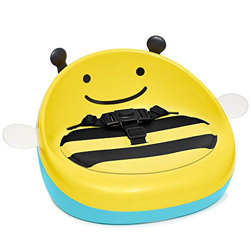Skip Hop Zoo 3-Stage Lightweight & Portable Booster Seat Yellow Bee