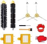 KTZAJO Vac Filters & Beater Bristle Brush & Side Brush Fit for IRobot Roomba 600 Series 620 630 650 660 680 Aspiradora Piezas (Color: SMT106) (Color: Smt204)