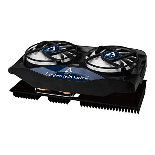 ARCTIC Accelero Twin Turbo III - Graphics Card Cooler with Backside Cooler for Efficient RAM, VRM Cooling and VGA Cooler (DCACO-V820001-GBA01)