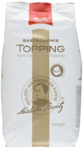 Melitta Professional Topping für Kaffee-Vollautomaten, Pulverförmig, Kaffeeweißer (1 x 1000 g)