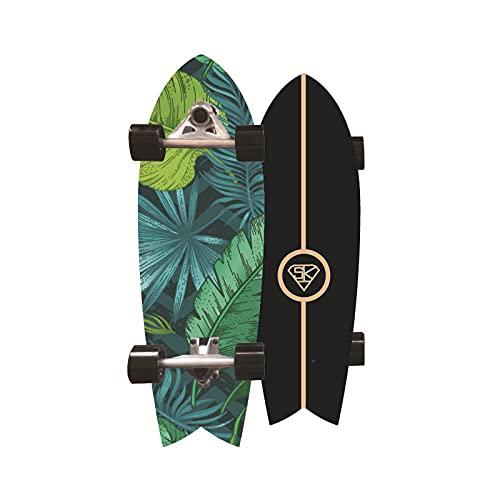 VOMI Trucos Waveboard Skateboard Cruiser Penny Board 31 pulgadas Freestyle Longboard completo Skateboards Skate Brush Street para adolescentes principiantes niñas niños adultos